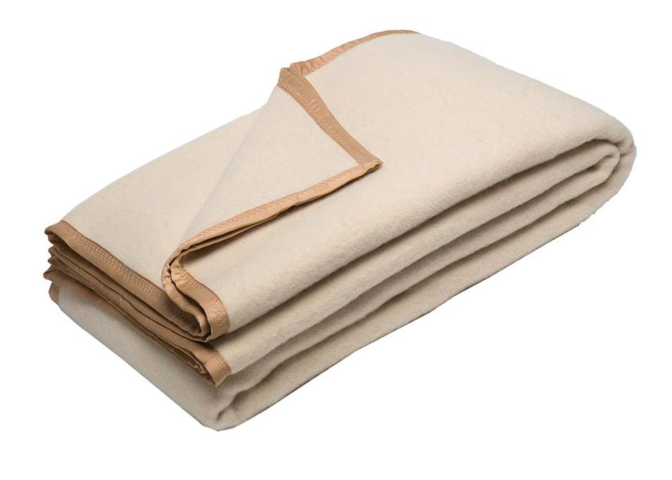 Тканое одеяло из овечьей шерсти