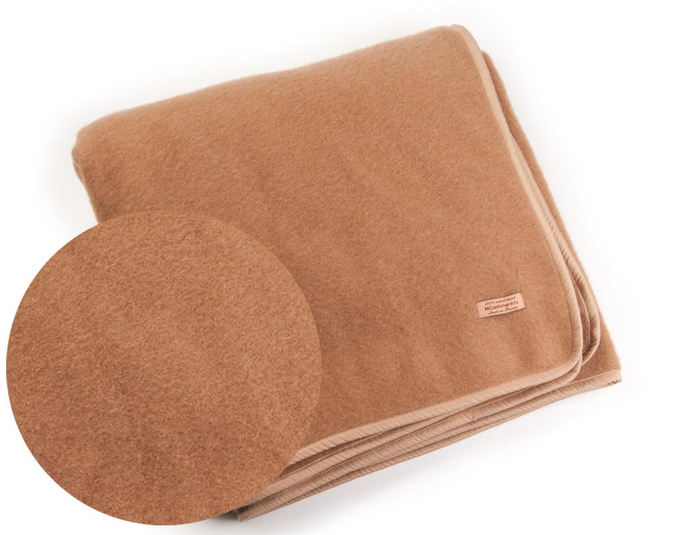 Тканое одеяло из верблюжьей шерсти