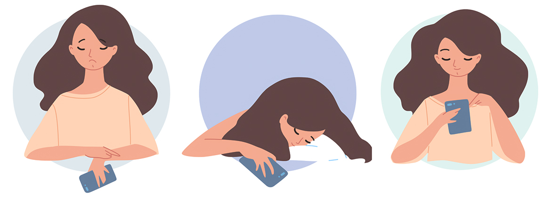 Использование гаджетов перед сном