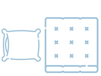 Теплые зимние постельные принадлежности