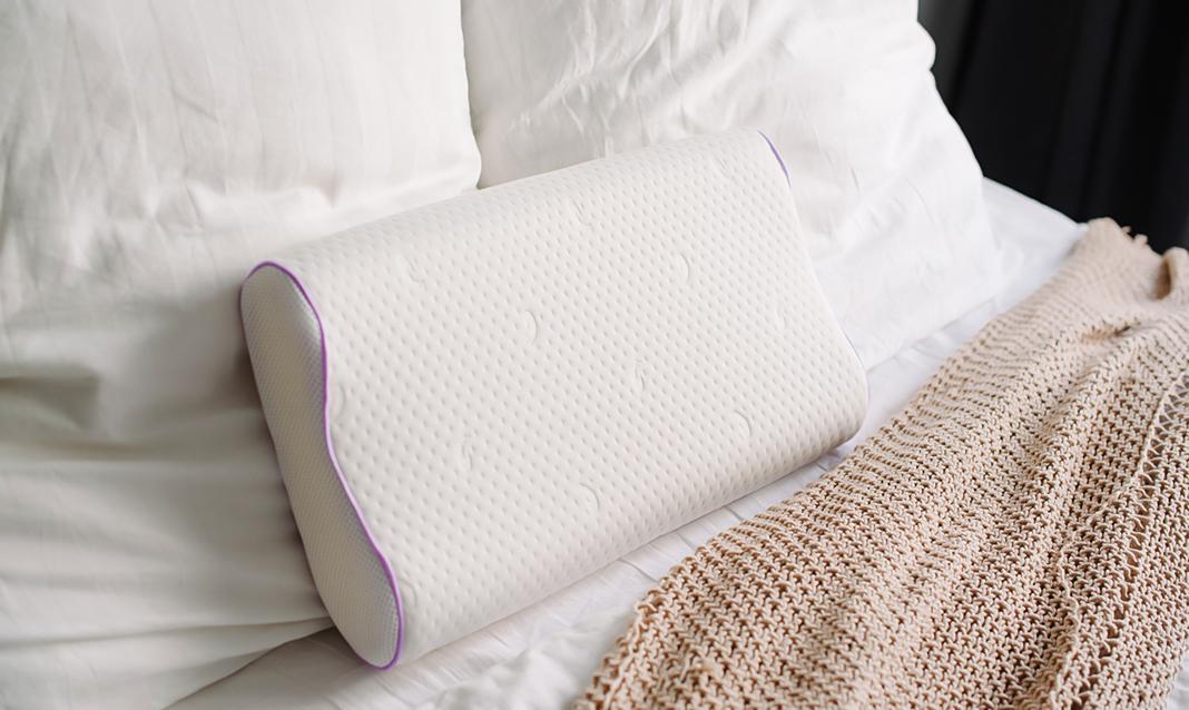 Латексная подушка с валиками