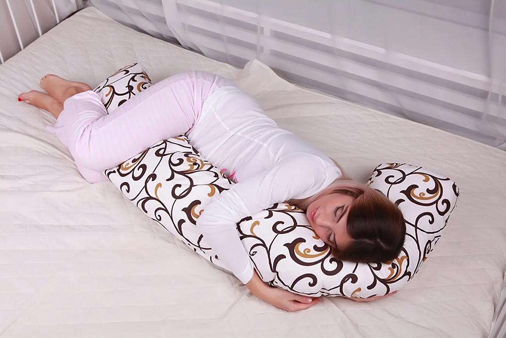 L-образная подушка